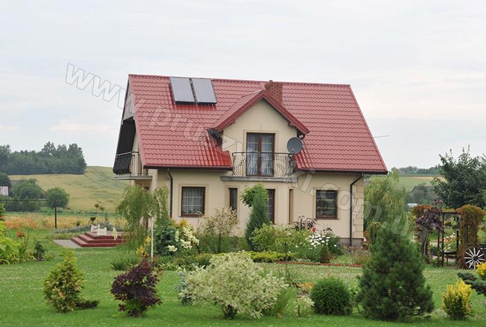 Фото 11. Крыша из металлочерепицы Крон