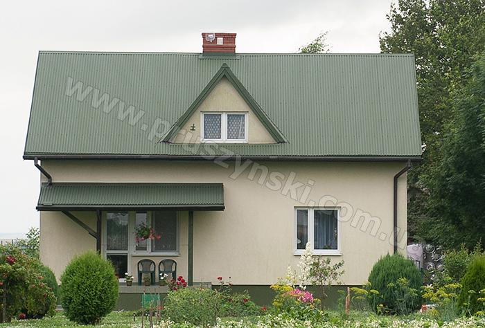 Фото 12. Крыша из профнастила