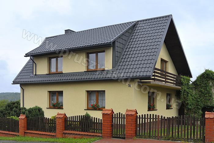 Фото 2. Крыша из металлочерепицы Арад Классик