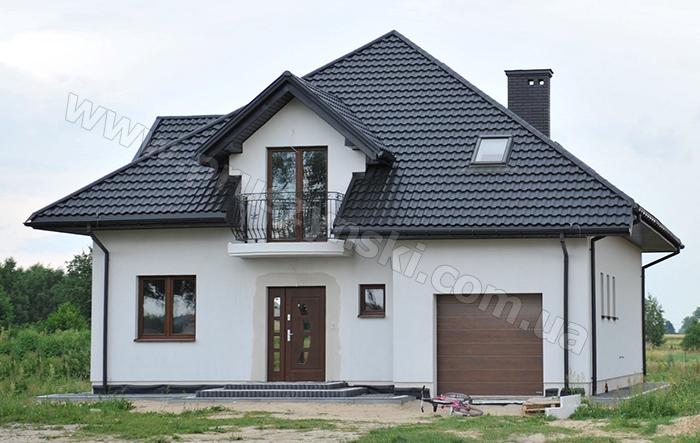 Фото 3. Крыша из металлочерепицы Арад