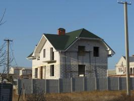Частный дом, Николаев, Металлочерепица Шафир МАТ 11