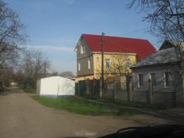Частный дом, Николаев, Металлочерепица Шафир РЕ 3011