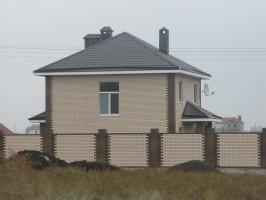 Частный дом, Николаев, Металлочерепица Шафир РЕ32