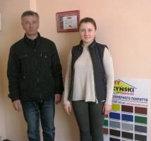 """Мы рядом с сертификатом официального представителя компании """"Прушиньски"""""""