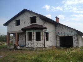 Частный дом - Шафир350 PE RAL8017