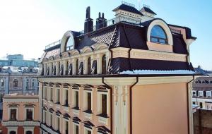 Жилой дом со встроенными помещениями