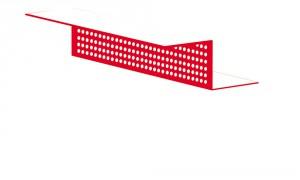Вентиляционная планка RetroLine с перфорированной полкой