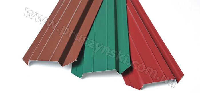 Фото 3. Стандартные цвета планок металлического штакетника: 8017, 6005, 3005