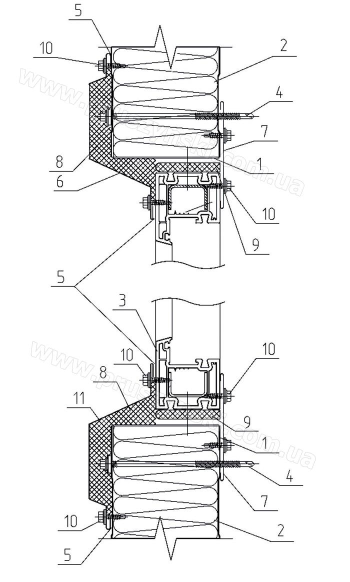 схема монтаж металлочерепицы альбатрос зет-лок