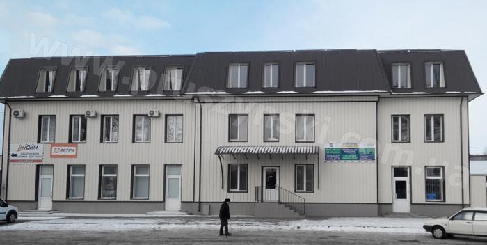 Вентилируемый фасад_офисный центр_Полтава
