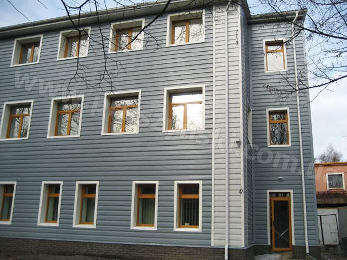 Вентилируемый фасад с облицовкой из профнастила