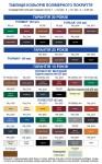 Зразки кольорів
